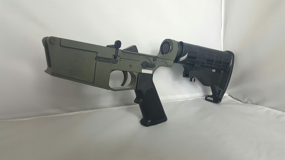 Olive Drab, doesnt match Magpul