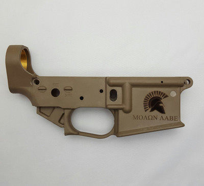Engraved Hybrid AR15 Lower-Level I Engraving