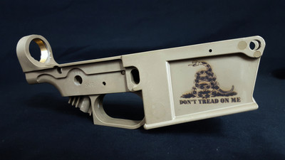 Engraved AR308-Magpul Colors