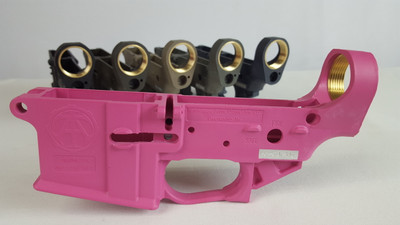AR 15- Pink (OUT OF STOCK UNTIL NOV.)(Matches Magpul Pink)