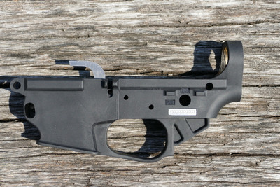 Custom Engraved TAC-9 Stripped Receiver, Glock Mag Compatible (Pre-order)