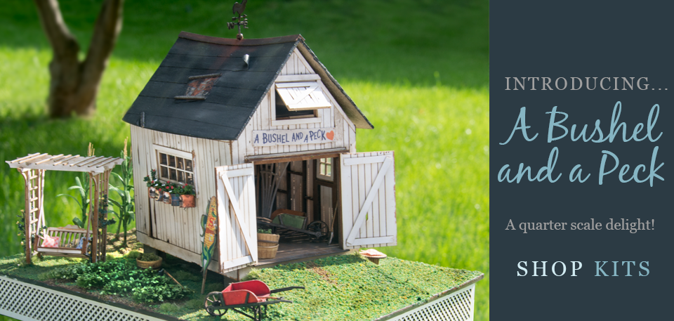 quarter scale garden shed kit