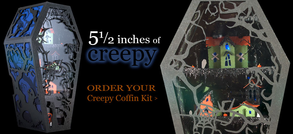 Order Your Creepy Coffin Kit
