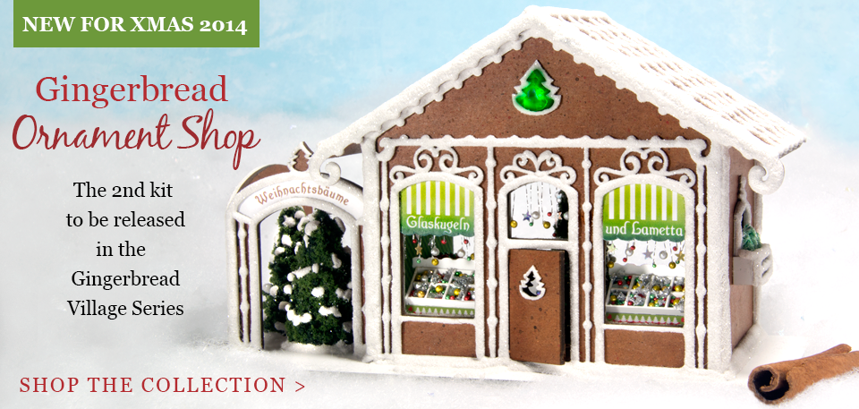 Gingerbread Ornament Shop - Buy Now