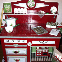 Twice as Sweet Christmas Stove