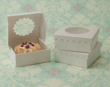 White Dessert Boxes Kit