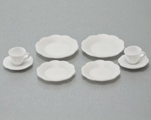 Miniature Plastic Dish Blanks for Decals