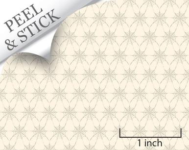 1:48 Charlotte's www; ivory wallpaper