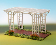 quarter scale pergola kit