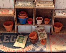 quarter scale pots and fertilizer sacks