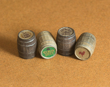 quarter scale barrels with decals