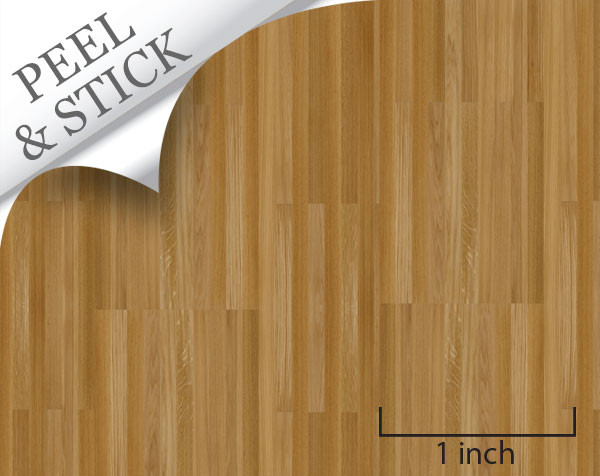 1 48 peel and stick flooring oak random plank for Printable flooring