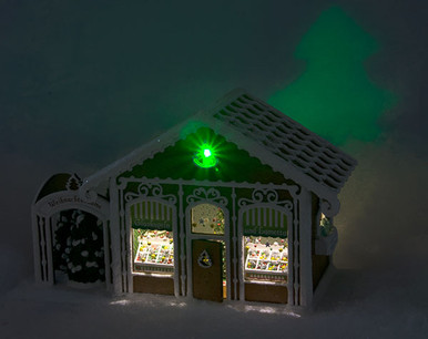 Gingerbread Ornament Shop - LED Lighting Kit