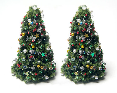 quarter scale Christmas trees kit