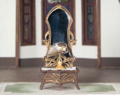 Quarter scale, 3D printed mirror