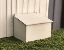 Hidden battery box kit with 3V battery holder and battery
