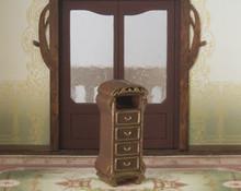 quarter scale art nouveau style jewelry chest