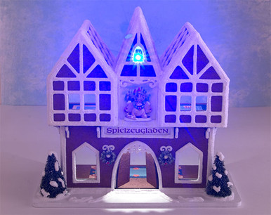 LED lighting kit for the Gingerbread Toy Shop
