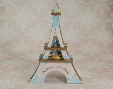 Eiffel Tower Soap Display