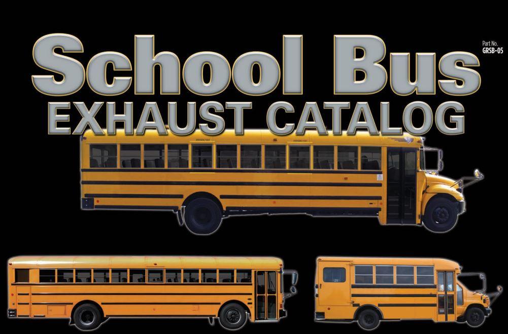 School Bus Exhaust Catalog