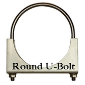 "5"" Round Bolt Open Saddle Clamp"
