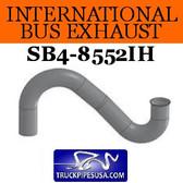 "1684397C1 International Bus Pipe 3 Bend 3.5"" OD Flare Flat ALZ"