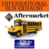 "SB1-9916IH | 3549916C1 International Bus Exhaust Straight Pipe 4"" x 12"" ID-OD ALZ"