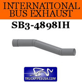 "1613069C1 International Bus Pipe 2 Bend 4"" ID-OD ALZ"