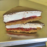 Peanut Butter + Jelly Smore