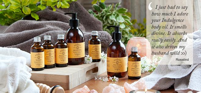 Organic body oils