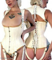 best online shop for leather underbust corsets, UK's leather underbust corset suppliers, we offer high quality underbust leather corsets.