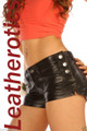 Genuine leather shorts tight fit uniqe Xmas gifts 502