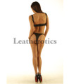 Leather Bikini Set Bra Underwear Brief Hot