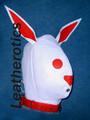leather bunny mask hood