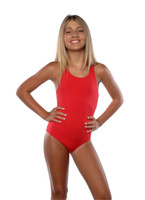 LNG75  Girl's Life guard Suit One Piece Sizes 7-8 -10