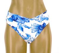 """B44  V Waist Front Bikini Bottom """"BLUE HAWAII"""" NNY NWI"""