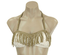 Summer of Love Fringe Bandeua Top