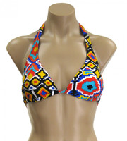 Happy Trails Halter Triangle Top