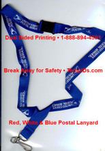USPS Lanyard with Break Away 7/8""
