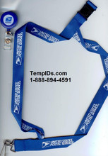 USPS Lanyard with Badge Reel Combo