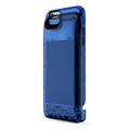 Boostcase Hybrid Power Case - Two Piece Design - protection case & battery sleeve, 2,700mAh - iPhone 6/6s - Transparent Sapphire Blue