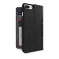 Twelve South BookBook Vintage Wallet Style Leather Case - iPhone 7 Plus and 8 Plus, Black