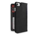 Twelve South BookBook Vintage Wallet Style Leather Case - iPhone 7/8, Black