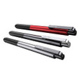 Lunatik Touch Pen Alloy - Aluminium Stylus Pen with dual mode tip (integrated rubber tip and rollerball pen)
