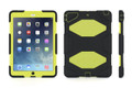 Griffin Survivor - iPad Air - Black/Citron