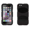 Griffin Survivor All Terrain - Heavy Duty Tough Case with removable belt clip and integrated screen  protection - iPhone 6 Plus, Black