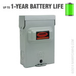 Electrical Box Nanny Camera with Night Vision and Three Year Battery Life