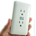 720P HD Electrical Outlet Hidden Camera with up to 5 Day Battery Life