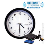 Internet Streaming Wall Clock Nanny Cam