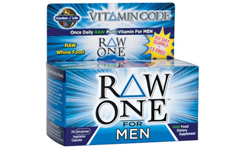 Garden of Life RAW ONE Men's Multivitamin